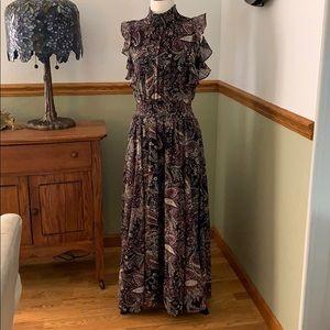 Antonio Melani sleeveless floral maxi dress 8